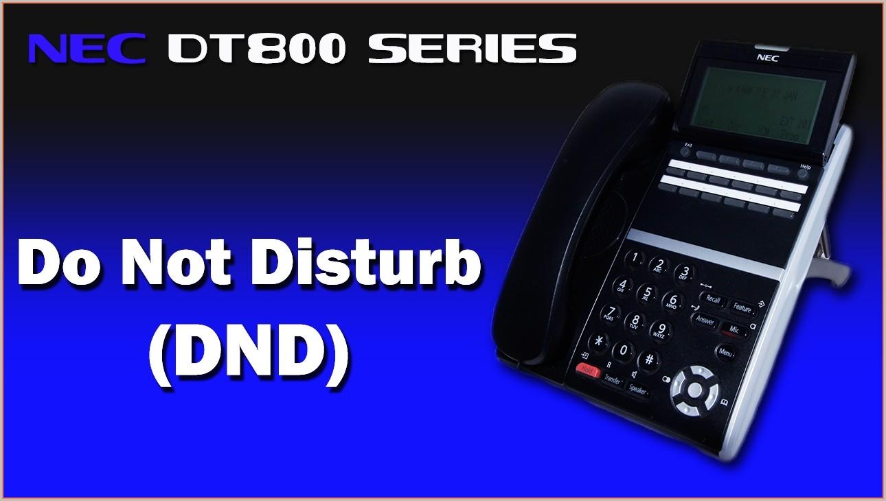 Nec Dt300 Phone Label Template