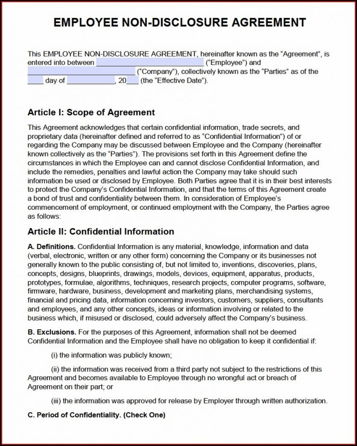 Non Compete Agreement Texas Template Free