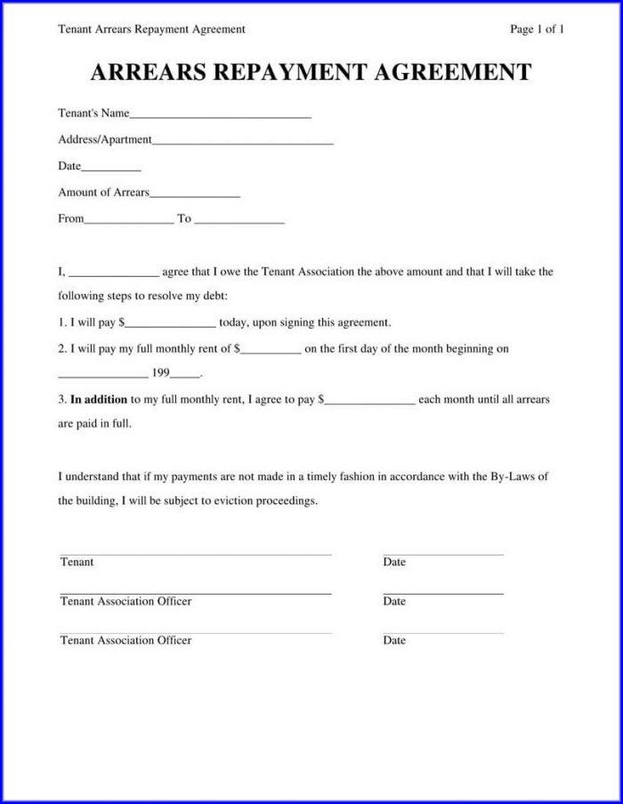 Personal Loan Agreement Template Pdf