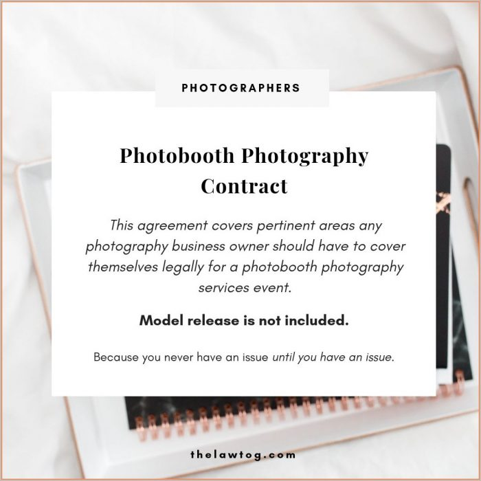 Photobooth Photo Booth Contract Template