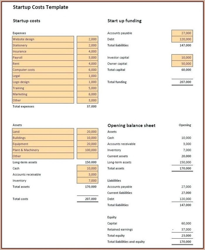 Printable Payroll Invoice Template