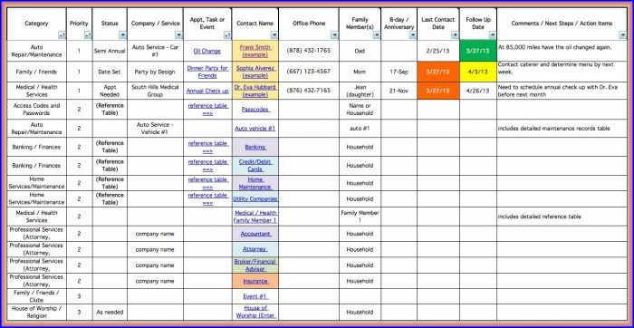 Project Management Template Excel Free Download