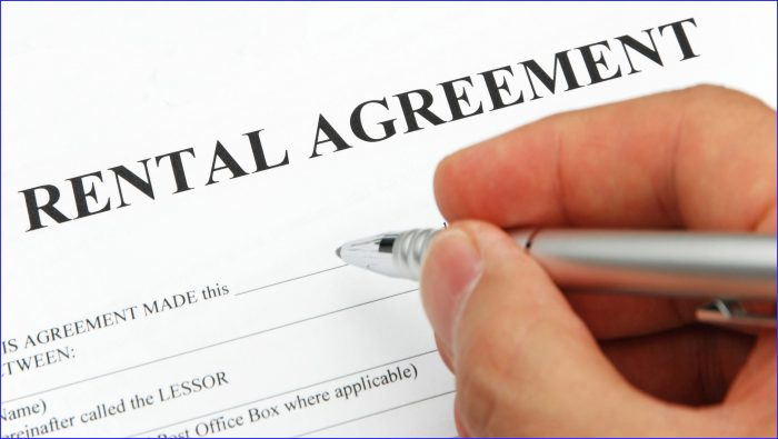 Rental Contracts Templates Free