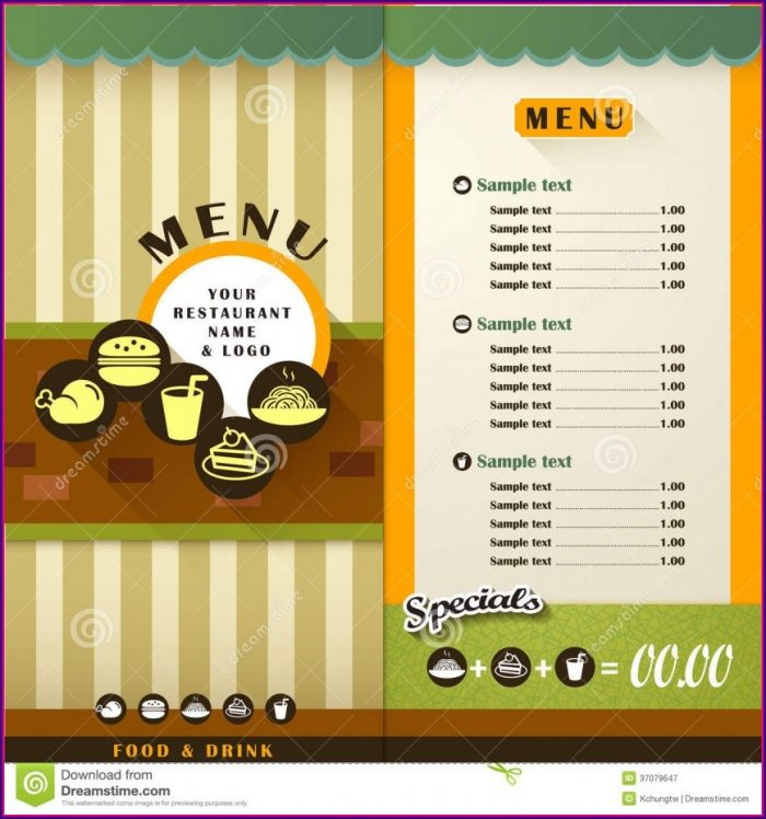 Restaurant Brochure Templates Free Download