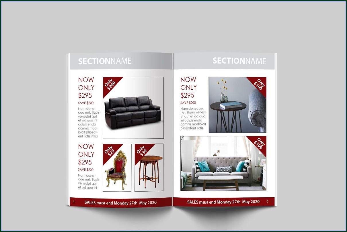 Sales Brochure Template
