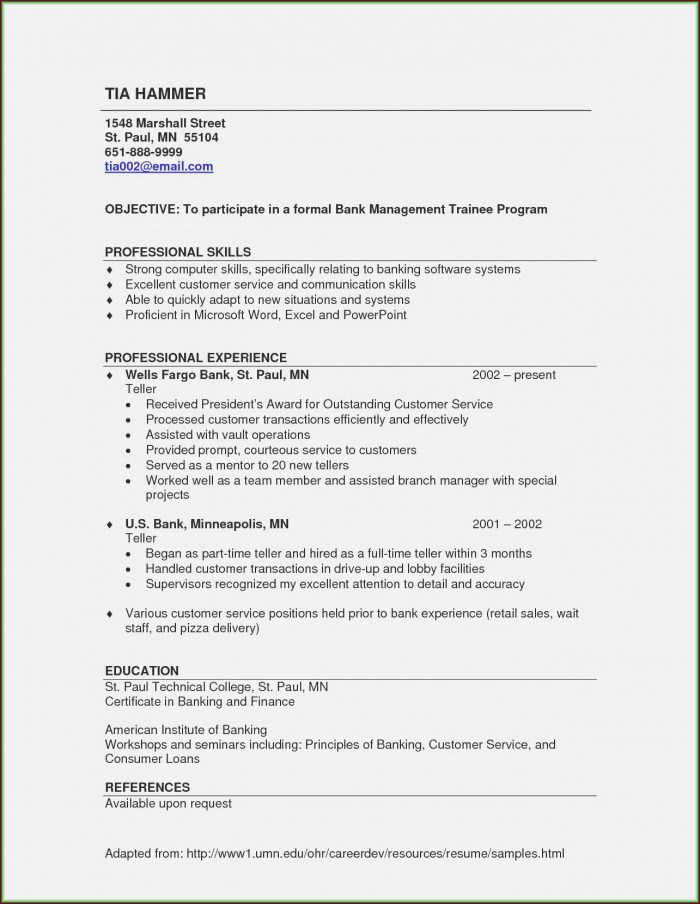 Self Employed Resume Templates