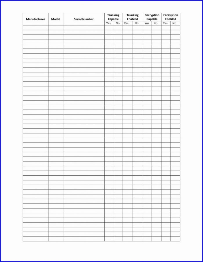 Small Business Inventory Spreadsheet Template Free
