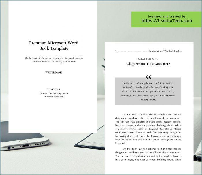 Souvenir Booklet Template Microsoft Word