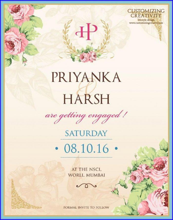 Wedding E Invites Templates Free
